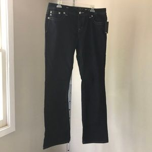 Miss Me Easy Boot Mid Rise Embellished Jeans 32